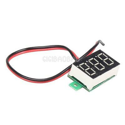Mini DC 2.5-30V Red LED Panel Voltage Meter 3-Digital Display Voltmeter