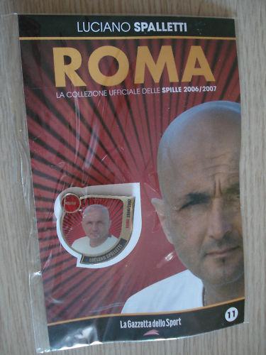 COLLECTION ROMA BROCHES PINS 2006/2007 BROCHE SPALLETTI
