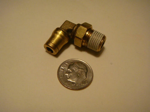Brass Push To Connect Fitting 1/8 NPT 5/32 Tube NEW