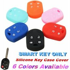4 Button Car Remote Silicone Key Case Cover Fob Protecter for Ford Focus Escape