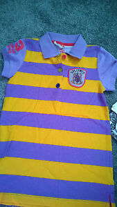 Little-Miss-Matched-Polo-Shirt-Size-Medium-Approx-Age-7