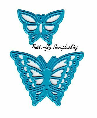 T1601 7.9 by 5.3 Inch Butterfly Flower Love Stamp and Die Sets for Card Making and Scrapbooking Joy Today Grateful Clear Rubber Stamps and Dies