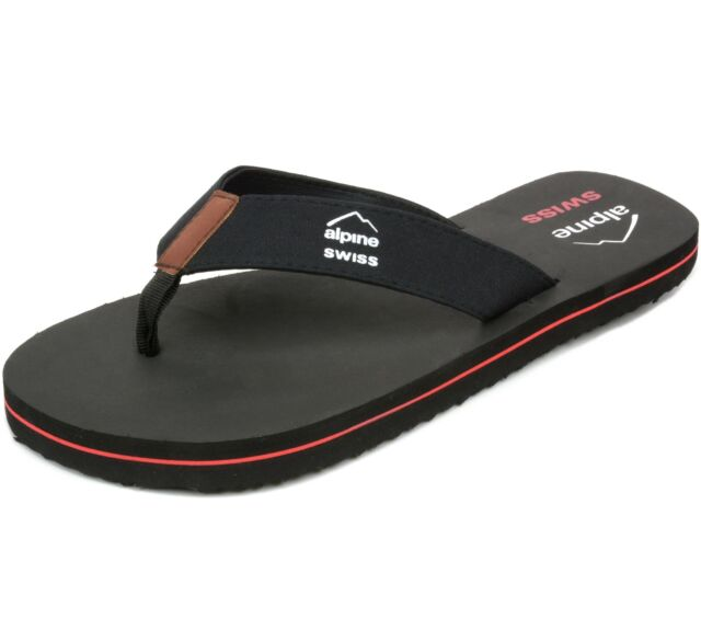 421a0e8eb8f0d Mens Flip Flops Beach Sandals Eva Sole Comfort Thongs Black 12 M US ...