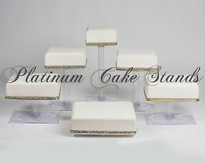 6-TIER-SQUARE-CASCADE-WEDDING-CAKE-STAND-STYLE-SQ630
