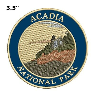 Glacier National Park Patch Travel Souvenir Embroidered Iron or Sew-on Explore