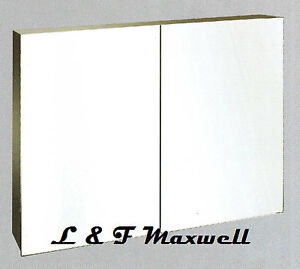 High-grade-stainless-steel-shaving-mirror-cabinet-900mm-with-piano-hinge