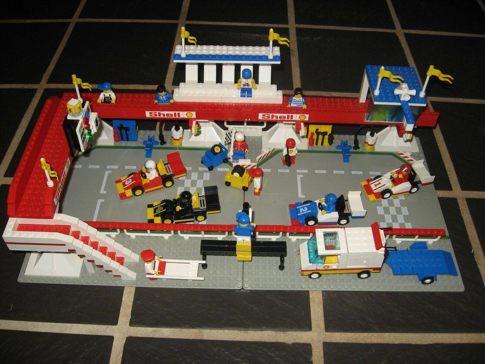 Lego 6395 VICTORY VICTORY VICTORY LAP RACEWAY 1988 CLASSIC Complete w/ instructions 0e3128