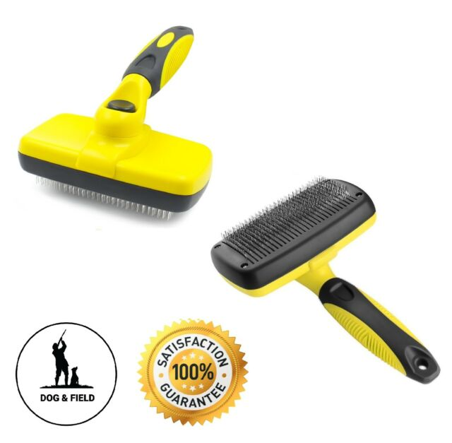 Pecute Dog Brush Double Sided Pin /& Bristle Pet Brush for Dogs /& Cats Grooming Comb Cleans Pets Shedding /& Dirt for Short Medium or Long Hair