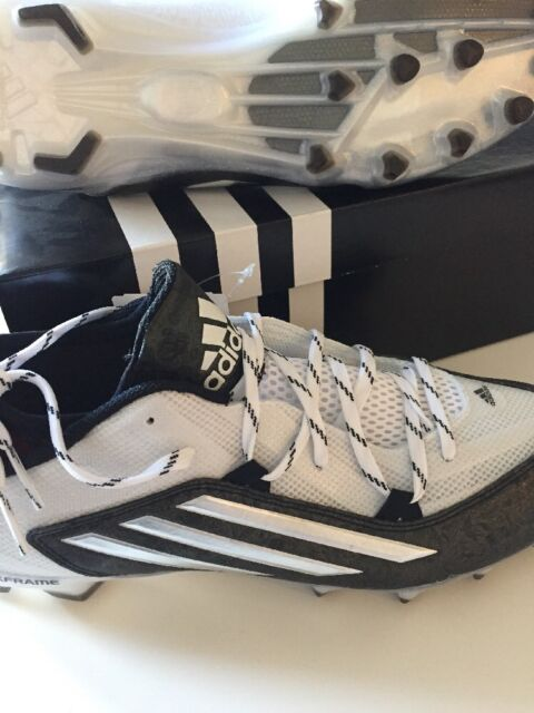 Adidas CrazyQuick 2.0 Football Cleats Size 11.0 Black / White