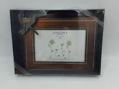 Sonoma Life Style 4x6 Picture Frame 3dragonfly Coppertone Color Kohls Ebay