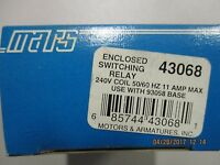 Mars Enclosed Switching Relay-43068- 240v Coil 50/60hz 11 Amp Max