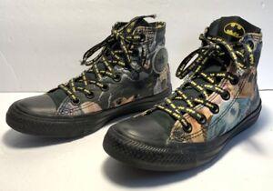 8ef9202f8641 Converse All Star DC Comic BATMAN Multi-Color Lace Up Shoes Men Size ...