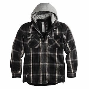 ™ Show Jacket Flannel Title Vintage AboutSurplus Details Mens Original Lumberjack Raw j4ALqR53