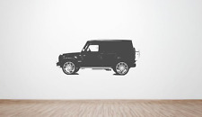 Mercedes g-class G-Wagon Side wall art decal / sticker. (AMG, Brabus, 4x4)