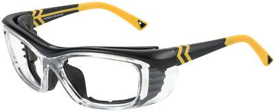 OnGuard Safety Eyewear OG-225SFDD w// Full Dust Dam Silver Navy Med 57mm Large 61