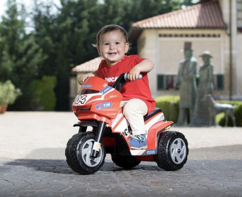 PEG PEREGO MOTO MOTOCICLETTA DUCATI MINI A BATTERIA  6VOLT