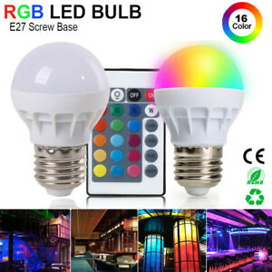 E27-RGB-LED-Bulb-3W-Light-Globe-Lamp-16-Colors-Changing-Decor-IR-Remote-Control