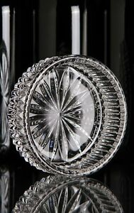 Waterford-Crystal-Somerset-Wine-Bottle-Coaster-5-034-Champagne-Coaster-Giftware