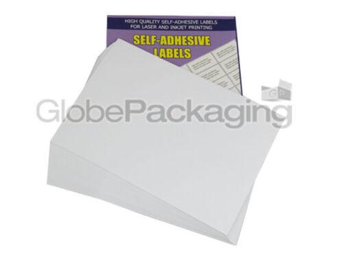 OFFERTA * 100 FOGLI 2 per Foglio-Qualità A4 facile BUCCIA Stampante etichette indirizzo