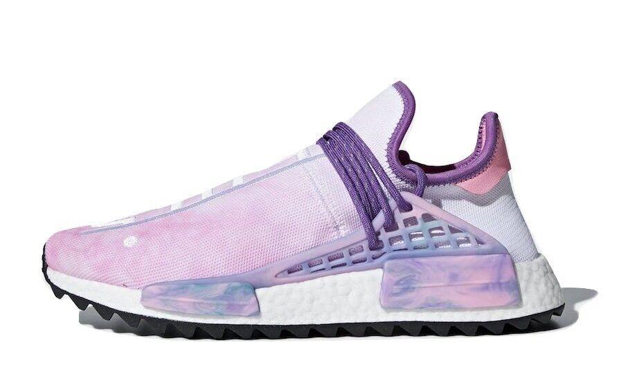 Adidas x Pharrell Williams HU Holi NMD PW Pink Glow AC7362 Human Race Size 8.5