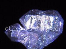 1 RARE STARBRARY INDIGO VIOLET AURA HERKIMER DIAMOND QUARTZ CRYSTAL! HERKIMER NY