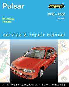 gregory s service repair manual nissan pulsar n15 1995 2000 owners rh ebay com gregory's car manuals downloads Helm Auto Manuals