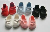 Cinderella Doll Shoes Strap, Size 03 White, Red,pink,blue Or Black