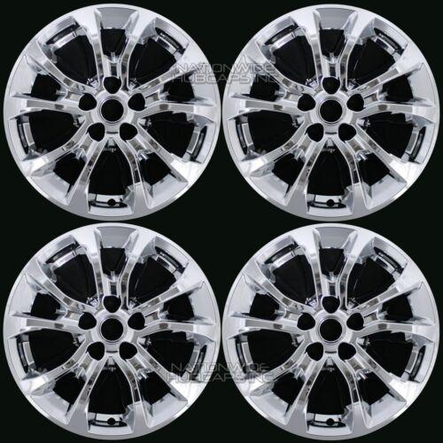 "4 Chrome 2018 2019 Equinox 17/"" Wheel Skins Hub Caps Full Covers fit Aluminum Rim"