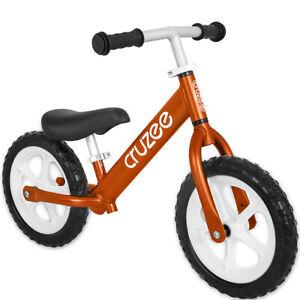 Cruzee-Two-12-Aluminium-Balance-Kids-Bike-Bicycle-Orange