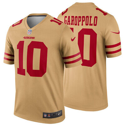 official photos 3c93c 8819f NEW Nike 2019 Jimmy Garoppolo San Francisco 49ers Jersey Inverted Legend  Edition | eBay