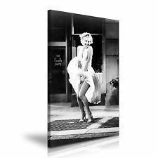 Marilyn Monroe Hollywood Icon Canvas Wall Art Picture Print 50x76cm