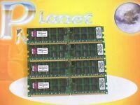 Kingston 16GB 4X4GB DDR2 PC2-5300 667MHz 240pin ECC REG SERVER KVR667D2D4P5/4GEF