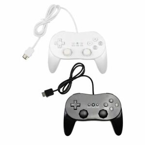 UK-Classic-Game-Controller-With-Grip-Joypad-Gamepad-For-Nintendo-Wii-Console-RB