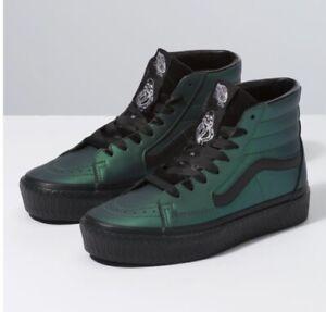 Details about Vans x Harry Potter SK 8 Hi Platform RB Dark Arts Emerald Green Black Size