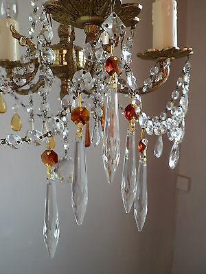 TOPAZ LAYERED chandelier lamp shade