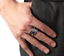 Sizable-Solid-925-Sterling-Silver-Thick-Mens-Unisex-Angel-Feather-Wing-Ring-UK thumbnail 7