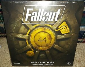 Details about Fallout New California Board Game Expansion FFG New Sealed