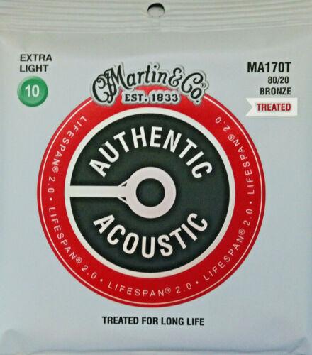 Martin MA-170T Western-Gitarren-Saiten 010-047 Acoustic Lifespan 2.0
