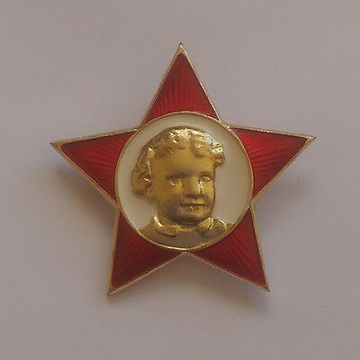 Little Octobrists Pin//Badge vintage russuan soviet ussr Communist Lenin 1917