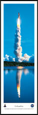 Columbia Space Shuttle Taking Off Framed Poster Picture NASA