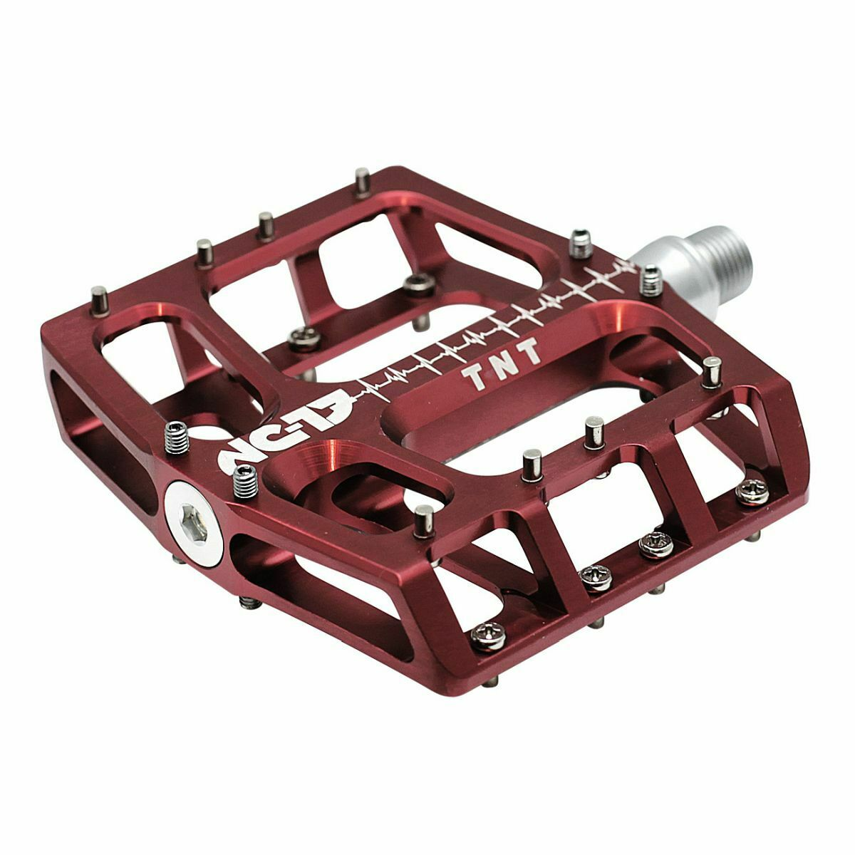 Nc-17 sudpin IV XL S-pro Flat bicicleta pedal rojo