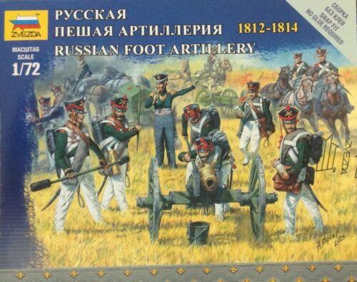 Soldatini 1//72 RUSSIAN  FOOT ARTILLERY  Zvezda 6809
