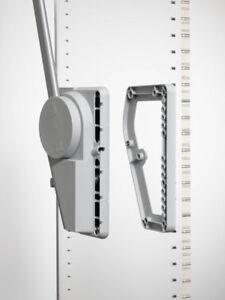 Ronin Furniture Fittings Distanzhalter 20mm f/ür Super Lift A.151.35 alufarben A.152.35