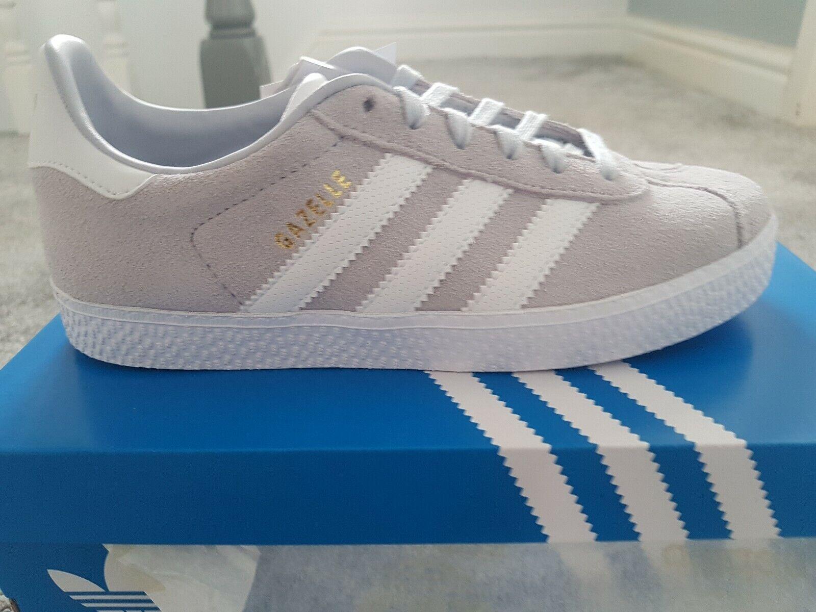 Adidas Gazelle Junior Grey Size 1