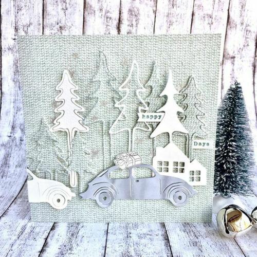 Christmas Tree Metal DIY Cutting Dies Stencil Scrapbooking Paper Card Embossing