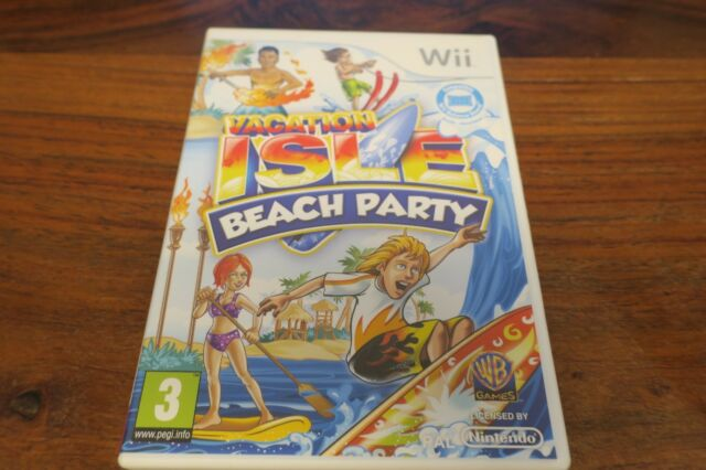 VACATION ISLE BEACH PARTY     ----- pour WII