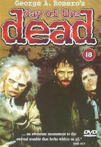 Day-Of-The-Dead-Uncut-George-A-Romero-Freccia-Film-UK-Regione-Gratuito-DVD-Nuovo