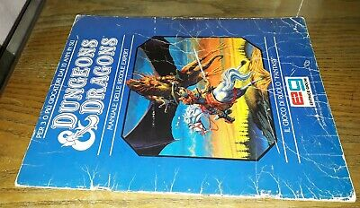 Manuale Delle Regole Expert, Gygax, Arneson, Dungeons & Dragons, 1°ed. Tsr Eg Per Farti Sentire A Tuo Agio Ed Energico