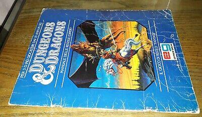 2019 Ultimo Disegno Manuale Delle Regole Expert, Gygax, Arneson, Dungeons & Dragons, 1°ed. Tsr Eg Ultimo Stile