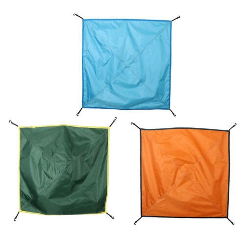Waterproof Rainfly Tarp Hammock with Pole Bucks for Outdoor Camping Tent